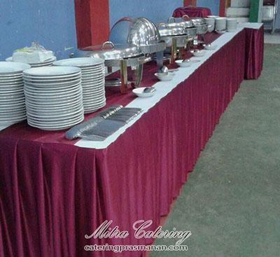 Catering prasmanan di tebet Jakarta Selatan
