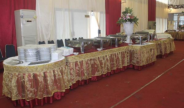 Jasa Catering di Depok menu prasmanan untuk acara aqiqah, arisan dan pernikahan