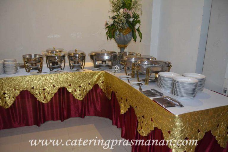 Paket Catering menu prasmanan untuk arisan keluarga